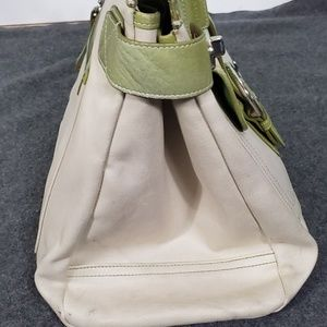 Coach Bags - Coach Buckle Front Tote Bag - Stained